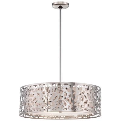George Kovacs Lighting P7986-077 Layover - Four Light Drum Pendant