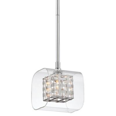 George Kovacs Lighting P801-077 Jewel Box - One Light Mini Pendant