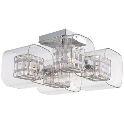 George Kovacs Lighting P802-077 Jewel Box - Four Light Semi-Flush Mount