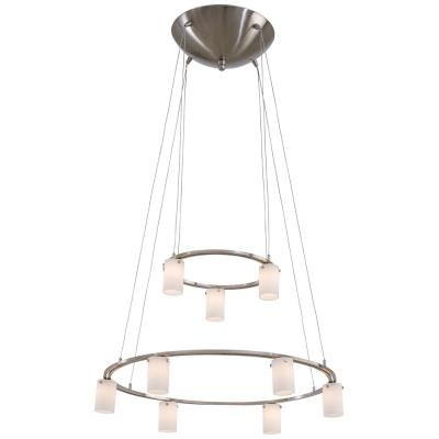 George Kovacs Lighting P8024-1-084 Counter Weights - Nine Light Low Voltage Chandelier