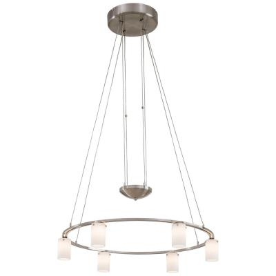 George Kovacs Lighting P8025-084 Counter Weights - Six Light Low Voltage Chandelier