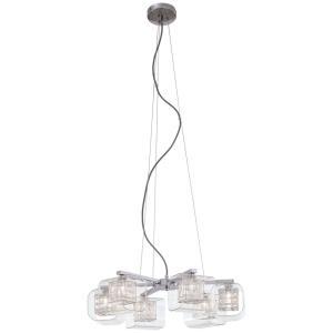 Jewel Box - Six Light Chandelier