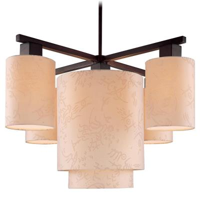 George Kovacs Lighting P8085-615 Kimono - Five Light Chandelier