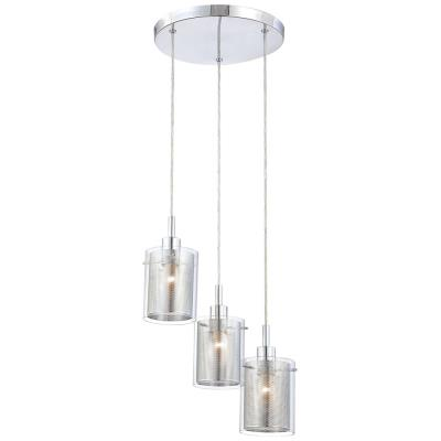 George Kovacs Lighting P963-077 Grid - Three Light Pendant