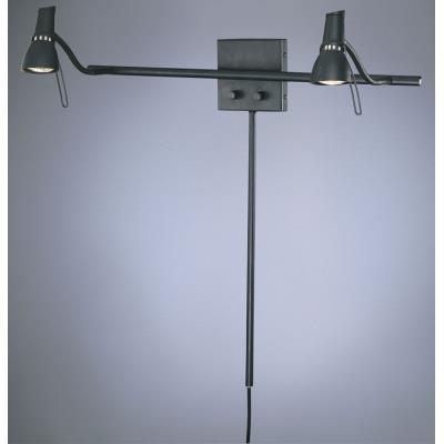 George Kovacs Lighting P4440-37B Contemporary Wall Lamp