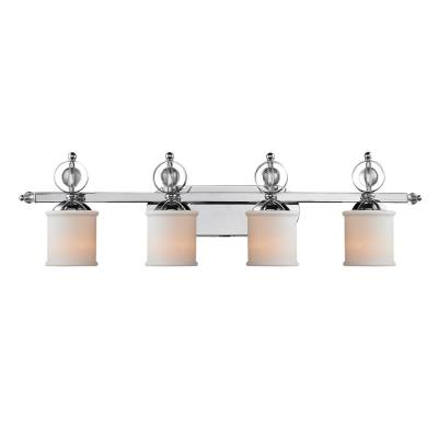 Golden Lighting 1030-BA4 CH Cerchi - Four Light Vanity