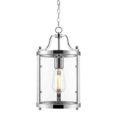 Golden Lighting 1157-M1L CH Payton - One Light Mini Pendant