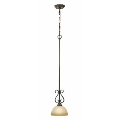 Golden Lighting 1567-M1L PC Riverton - 1 Light Mini-pendant