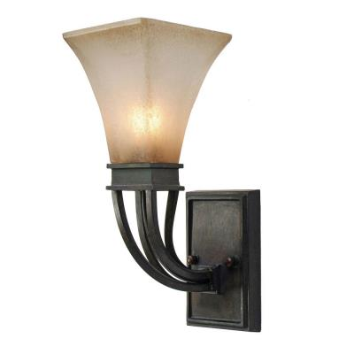 Golden Lighting 1850-1W RT Genesis - One Light Wall Sconce