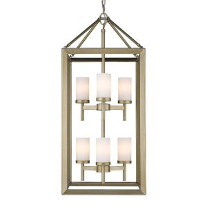 Smyth - Six Light 2-Tier Pendant