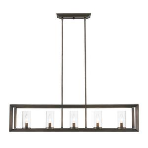 Smyth - Five Light Linear Pendant
