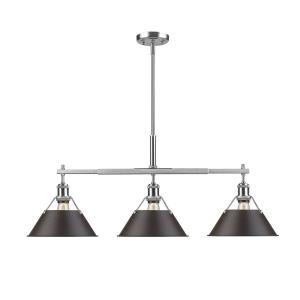 Orwell - Three Light Linear Pendant