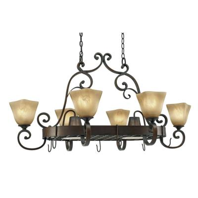 Golden Lighting 3890-PR62 GB Pot Rack