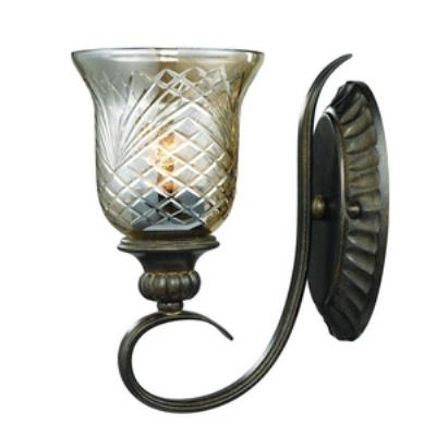 Golden Lighting 8118-1W BUS Alston Place - One Light Wall Sconce