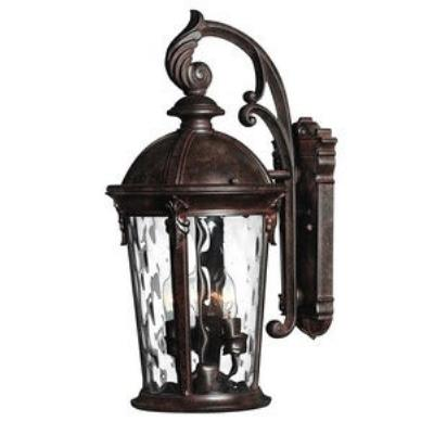 Hinkley Lighting 1898RK Windsor Brass Outdoor Lantern Fixture