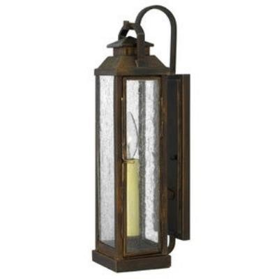 Hinkley Lighting 1180SN Revere - One Light Outdoor Small Wall Sconce