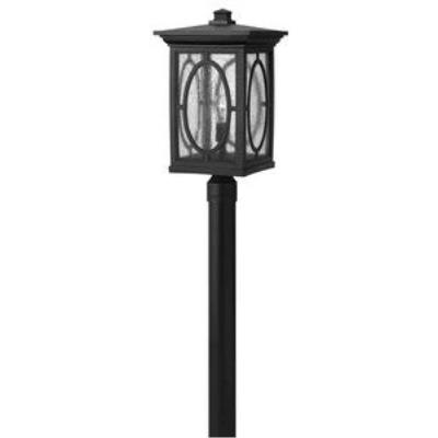 Hinkley Lighting 1499BK Randolph - One Light Large Post