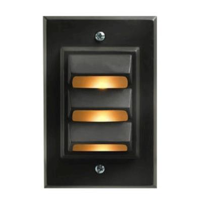 Hinkley Lighting 1542BZ-LED LED Outdoor Deck/Step Lamp