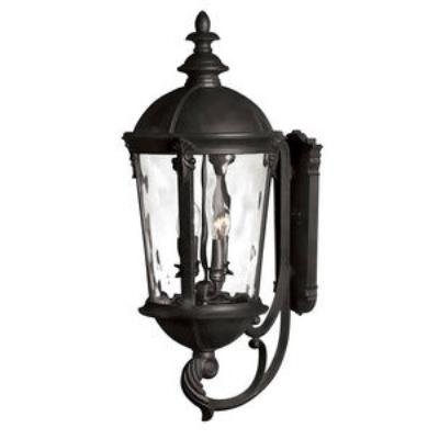 Hinkley Lighting 1895BK Windsor - Four Light Large Outdoor Wall Mount