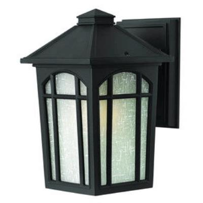 Hinkley Lighting 1980BK Cedar Hill - One Light Small Outdoor Wall Mount