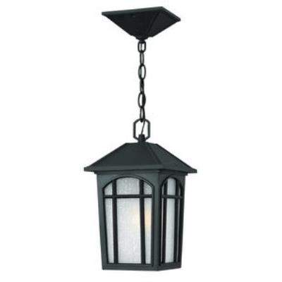 Hinkley Lighting 1982BK Cedar Hill - One Light Outdoor Hanging Lantern