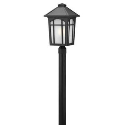 Hinkley Lighting 1989BK Cedar Hill - One Light Large Post