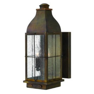 Hinkley Lighting 2044SN Bingham - Two Light Medium Outdoor Wall Mount