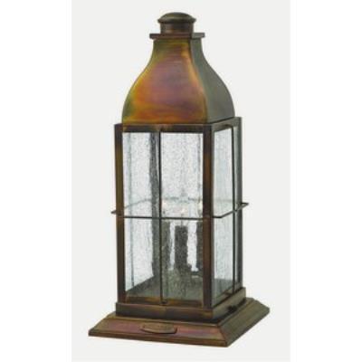 Hinkley Lighting 2047SN Bingham - Three Light Outdoor Pier Mount