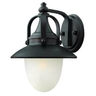 Hinkley Lighting 2080SB-LED Pembrook - One Light Outdoor Small Wall Mount