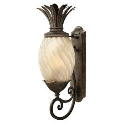 Hinkley Lighting 2124PZ-GU24 Plantation - One Light Large Outdoor Wall Mount