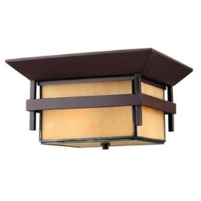 "Hinkley Lighting 2573AR Harbor - 12.3"" 32W 1 LED Outdoor Flush Mount"