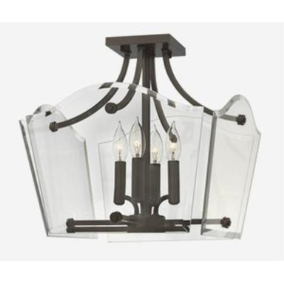 Hinkley Lighting 3001OZ Wingate - Four Light Semi-Foyer