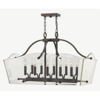 Hinkley Lighting 3005OZ Wingate - Ten Light Rectangular Foyer