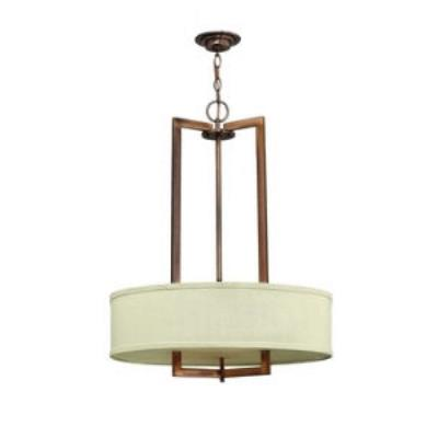 Hinkley Lighting 3204BR Hampton Three Light Chandelier