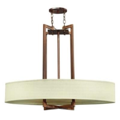 Hinkley Lighting 3208BR Hampton Four Light Chandelier