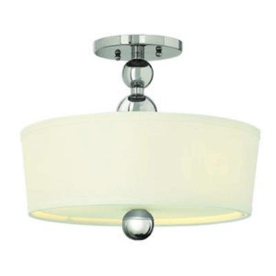 Hinkley Lighting 3441PN Zelda - Three Light Semi-Flush Mount