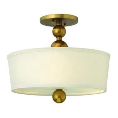 Hinkley Lighting 3441VS Zelda - Three Light Semi-Flush Mount