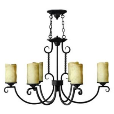 Hinkley Lighting 3508OL Casa Oval 6lt Chandelier
