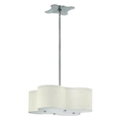 Hinkley Lighting 3804 Cirrus - Four Light Combo Small Foyer Chandelier