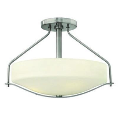Hinkley Lighting 3821BN Pelham - Three Light Semi-Flush Mount