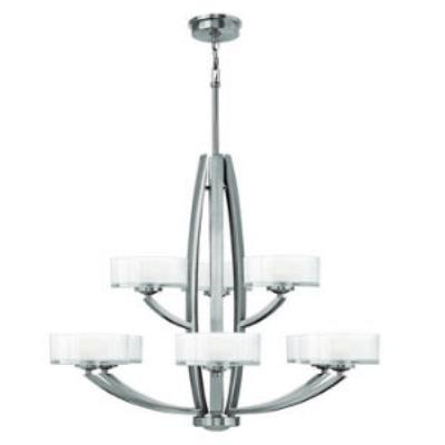 Hinkley Lighting 3878 Meridian - Nine Light Chandelier