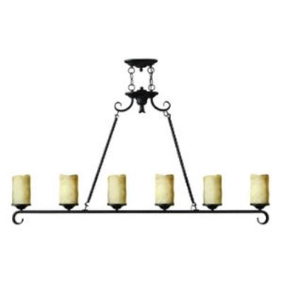 Hinkley Lighting 4304OL Casa Six Light Chandelier