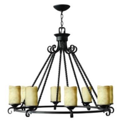 Hinkley Lighting 4308OL Casa Eight Light Chandelier