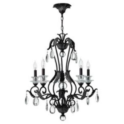 Hinkley Lighting 4405GR Marcellina Five Light Chandelier