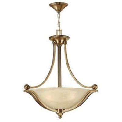 Hinkley Lighting 4652BR Bolla Collection 3 Light Pendant