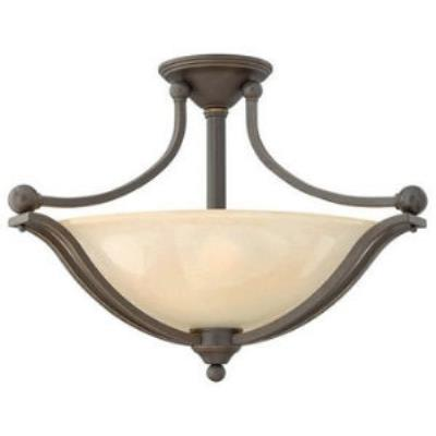 Hinkley Lighting 4669OB 3LT SEMI FLUSH FOYER