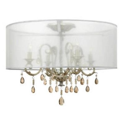 Hinkley Lighting 4771SL Carlton - Four Light Semi-Flush Mount