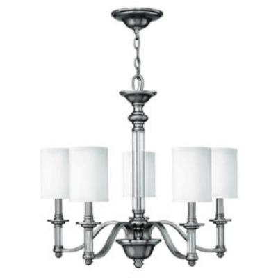Hinkley Lighting 4795BN Sussex Five Light Chandelier