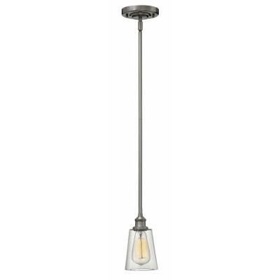 Hinkley Lighting 4937PL Gatsby - One Light Mini-Pendant