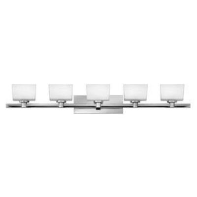 Hinkley Lighting 5025CM Taylor - Five Light Bath Bar